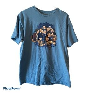 Other - Dr. Who Light Blue Selfie Tee with Tardis